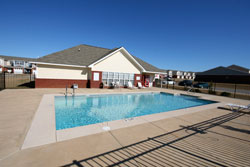 The clubhouse pool at Wakefield Subdivision.